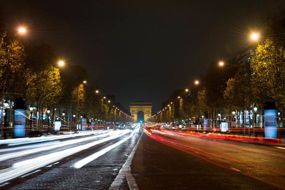 Pose longue Paris