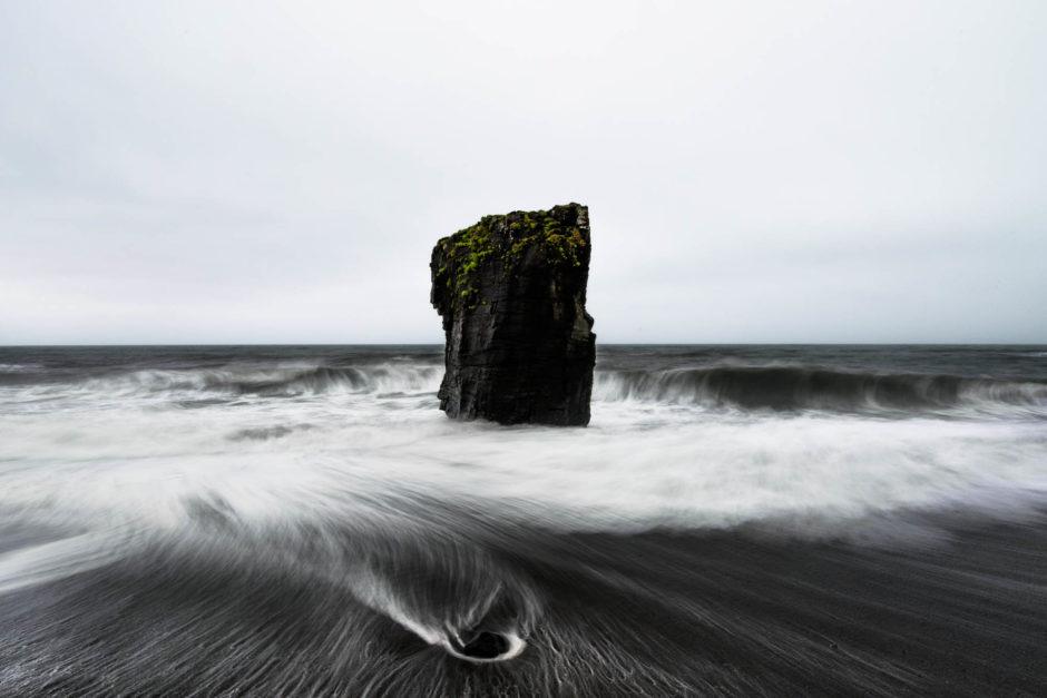 Pose longue de seulement 1,3 seconde - © Damien Roué