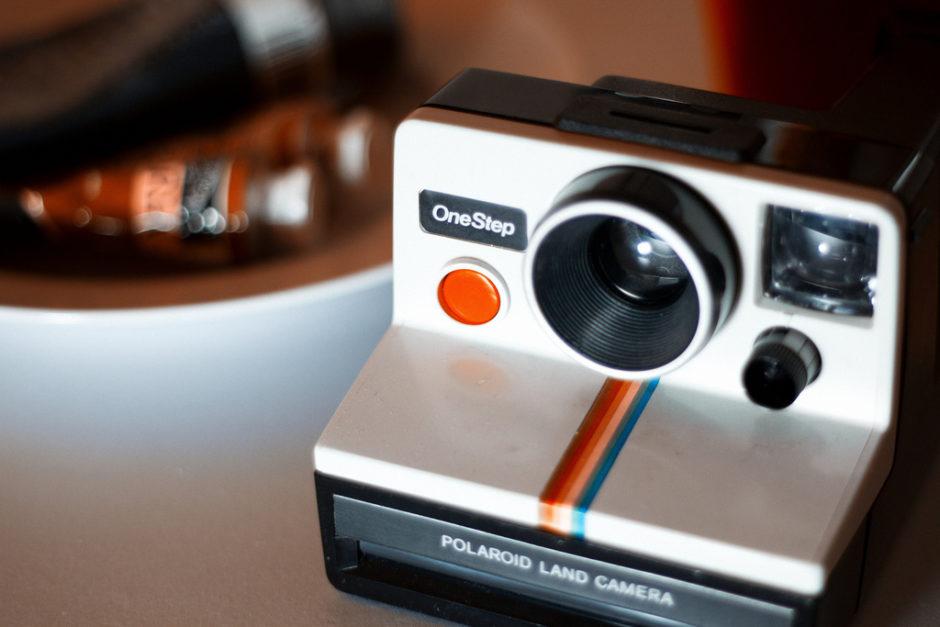 Polaroid OneStep - Simon Carr