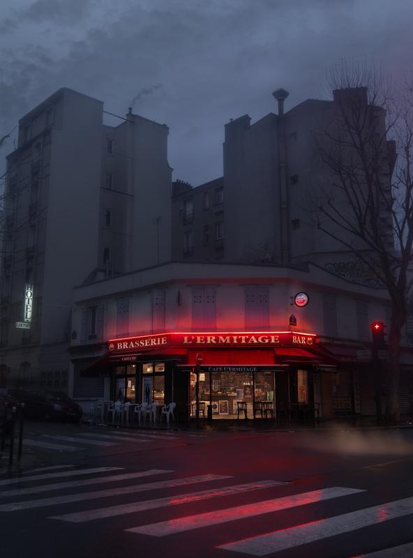 L'Ermitage. Paris XXème - © Blaise Arnold