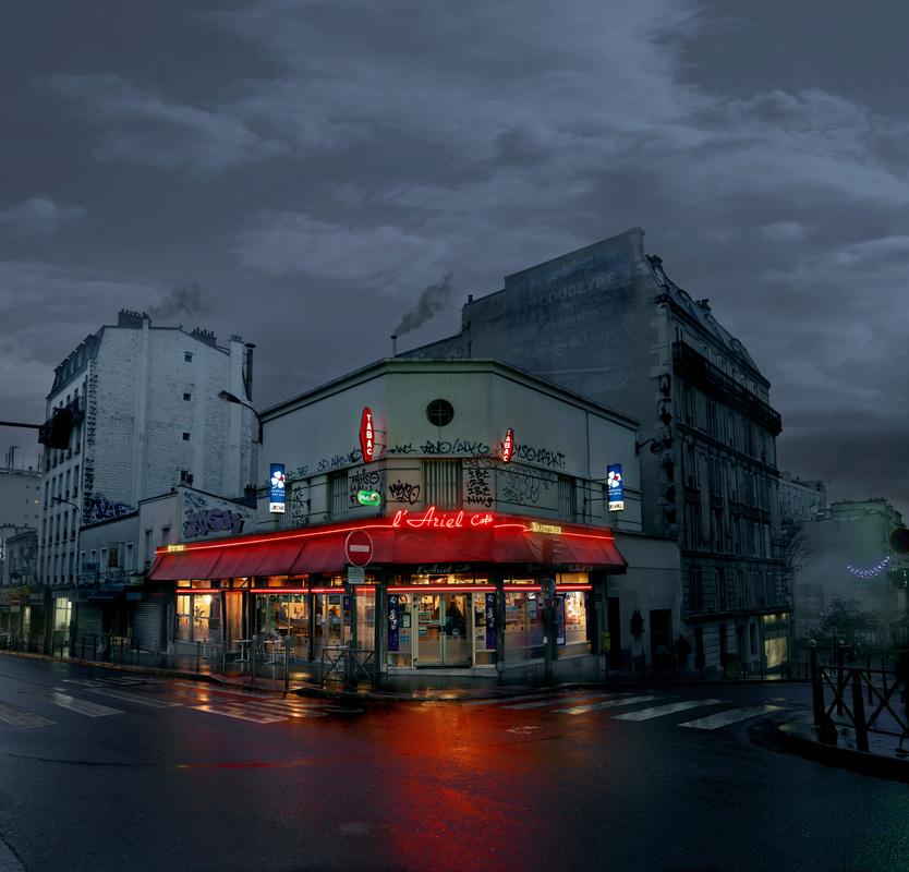 L'Ariel, Paris XX. - © Blaise Arnold