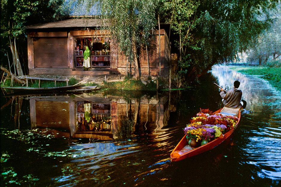 """Exemple d'une photo présentée dans la section """"Fine Art"""" du site de Steve McCurry"""