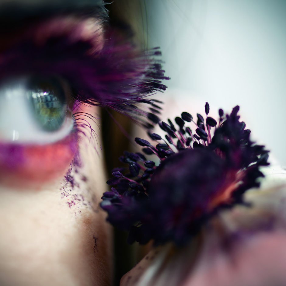 Du pollen sur les cils - © Sophie Thouvenin