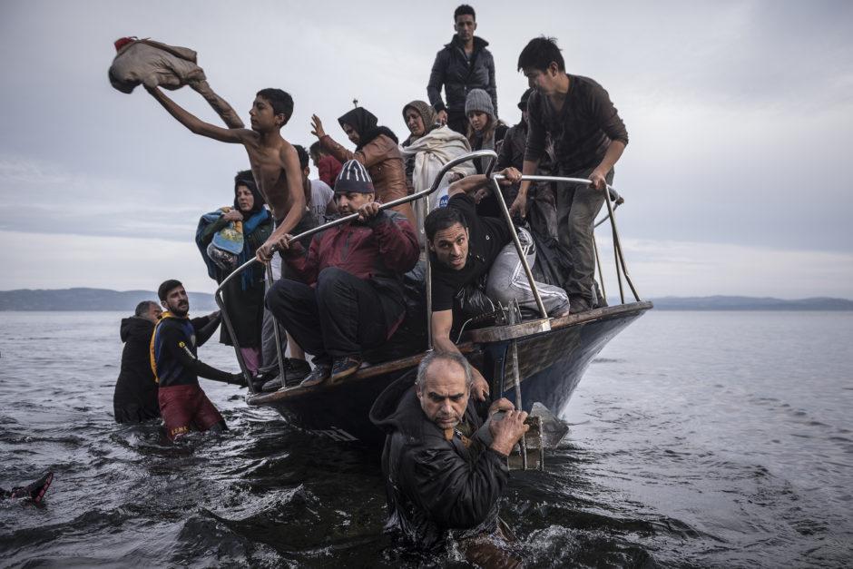 ©Sergey Ponomarev, Reporting Europe Refugee Crisis
