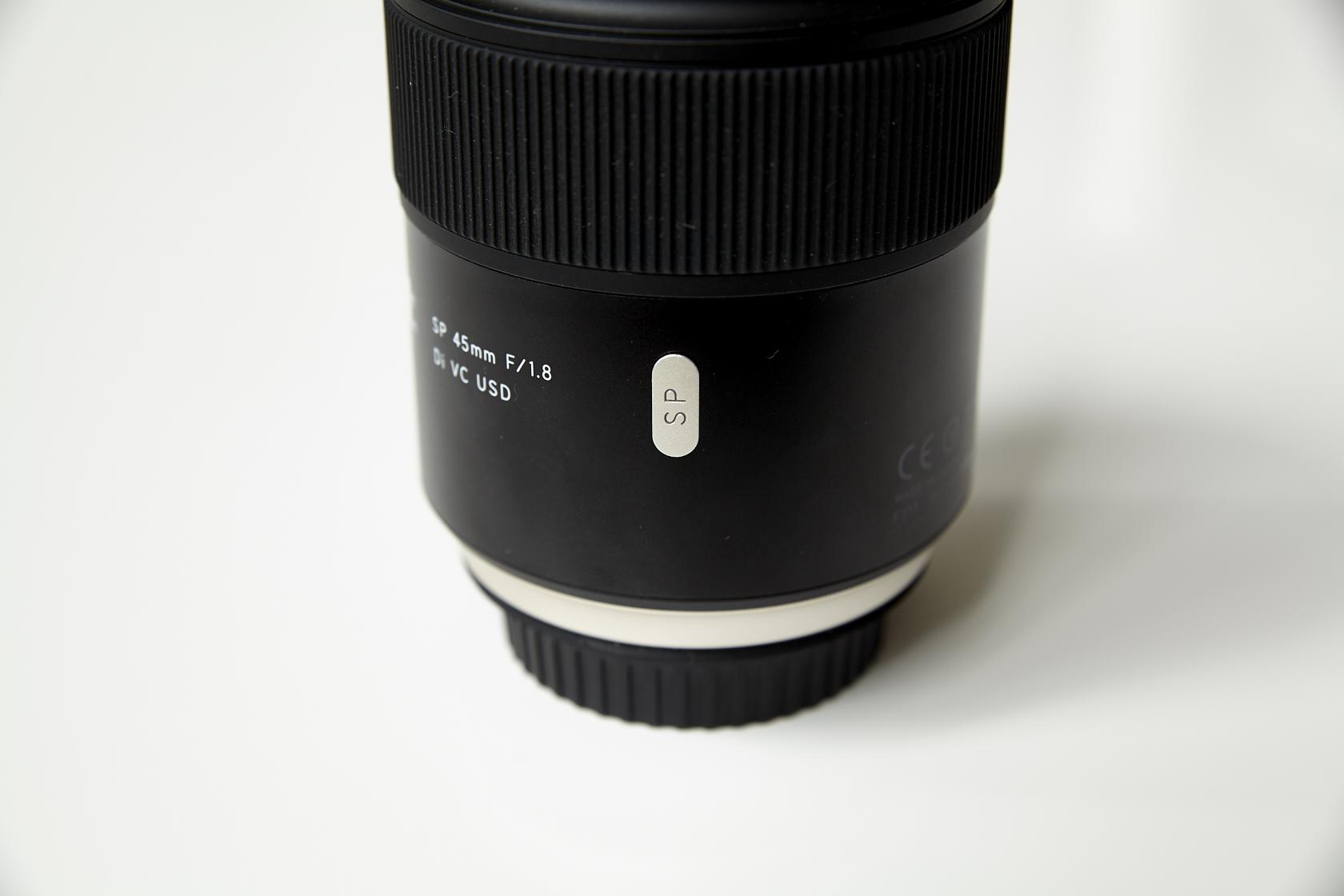 Test Tamron SP 45mm f/1.8 Di VC USD