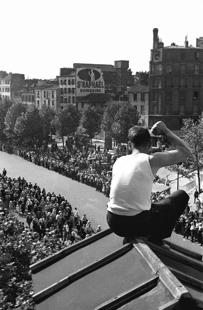 Fred Stein, Manifestation du 14 juillet de la Bastille à Vincennes, 1935