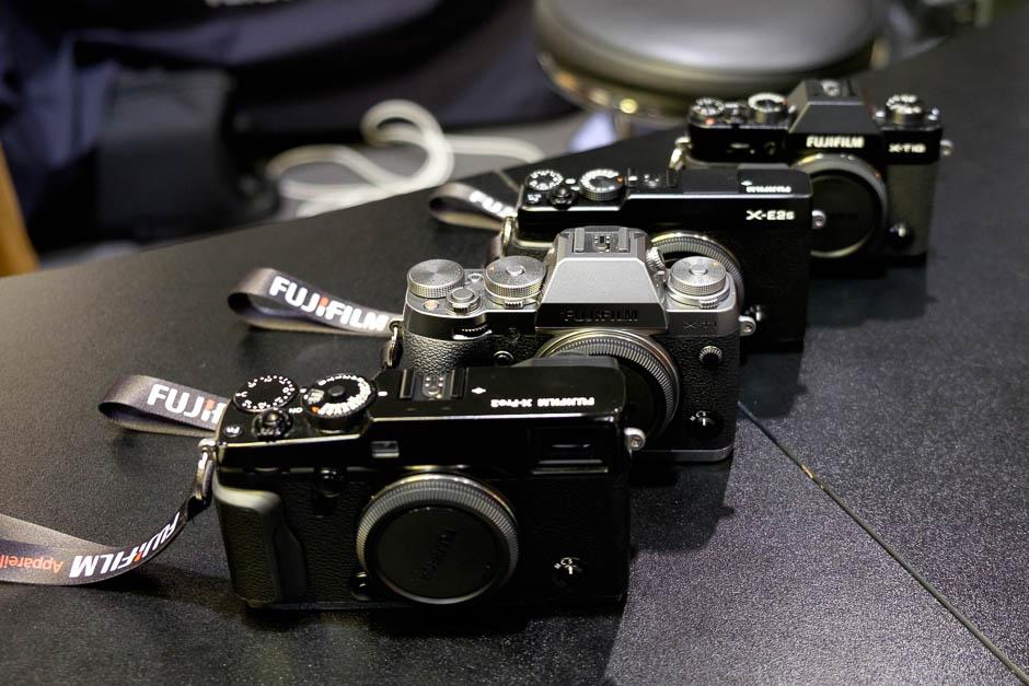 La famille Fujifilm
