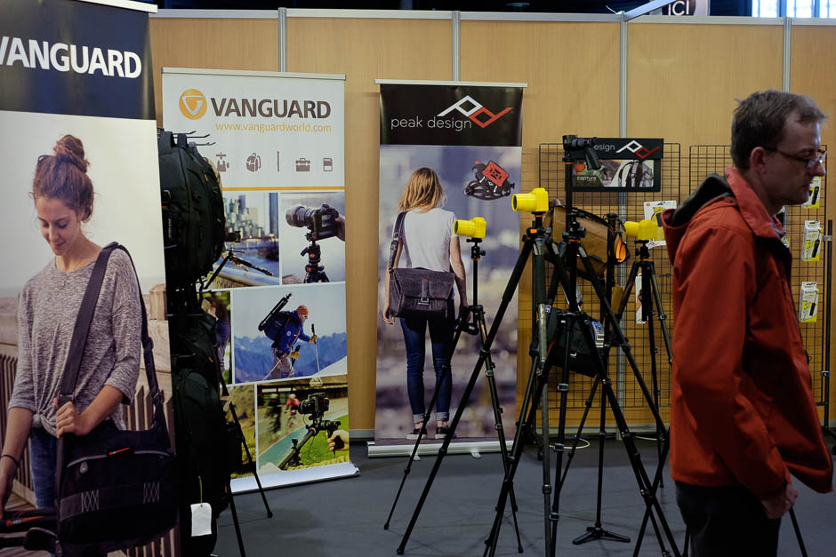 Stand Vanguard et Peak Design