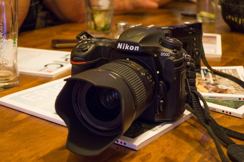 Le Nikon D500, l'invité matériel de la soirée