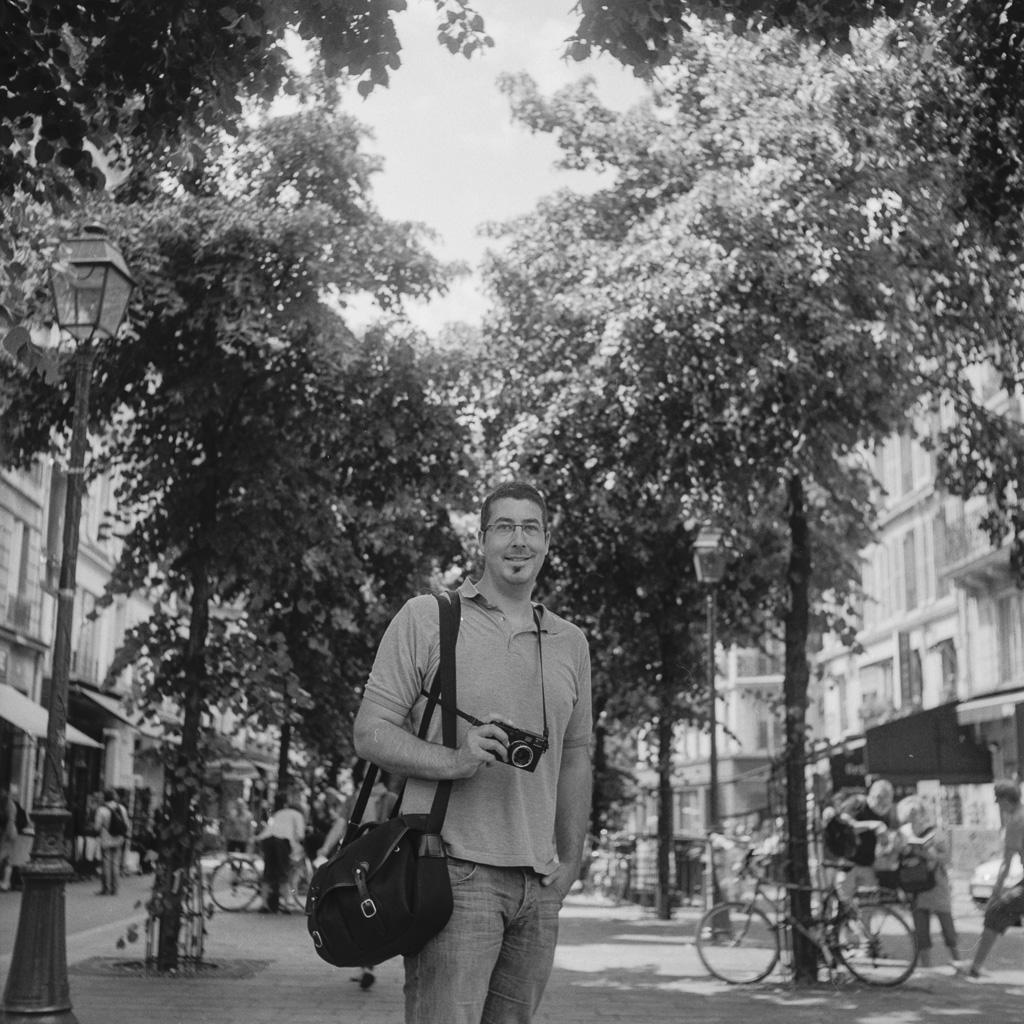 Interview de Vincent Montibus, entre argentique et photographie de rue
