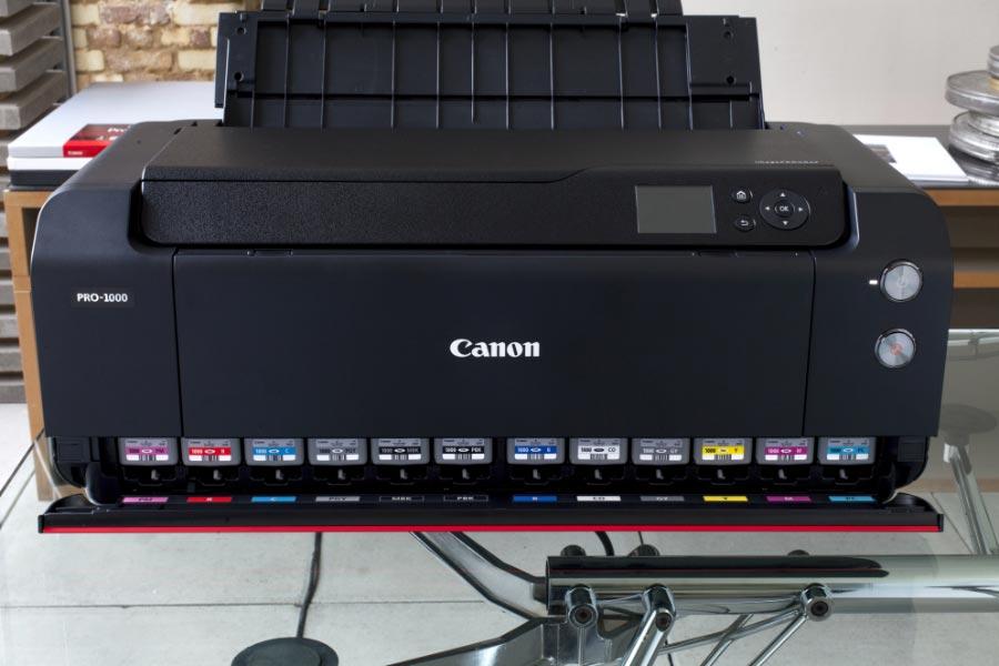 Les encres de la Canon imagePROGRAF PRO-1000