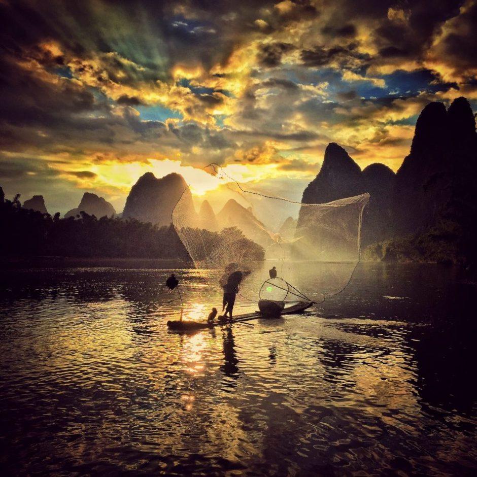 "© Yongmei Wang, 2nd Place ""Sunset"""