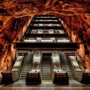 Station Rådhuset, Stockholm, Suède © Axel Hahn, Flickr.com