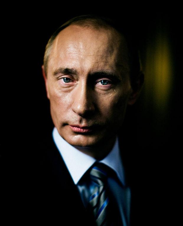 © Stéphane Lavoué, Vladimir Poutine