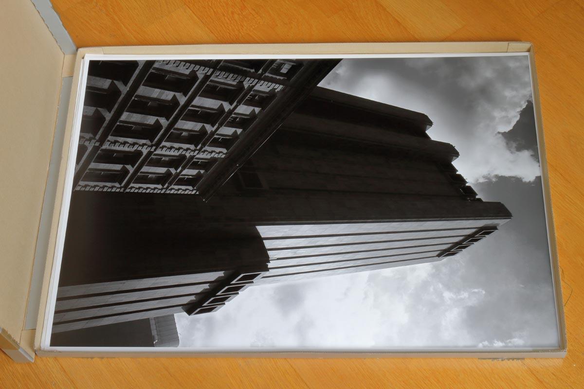 Impression A2 sur la Canon imagePROGRAF PRO-1000 / Gotham