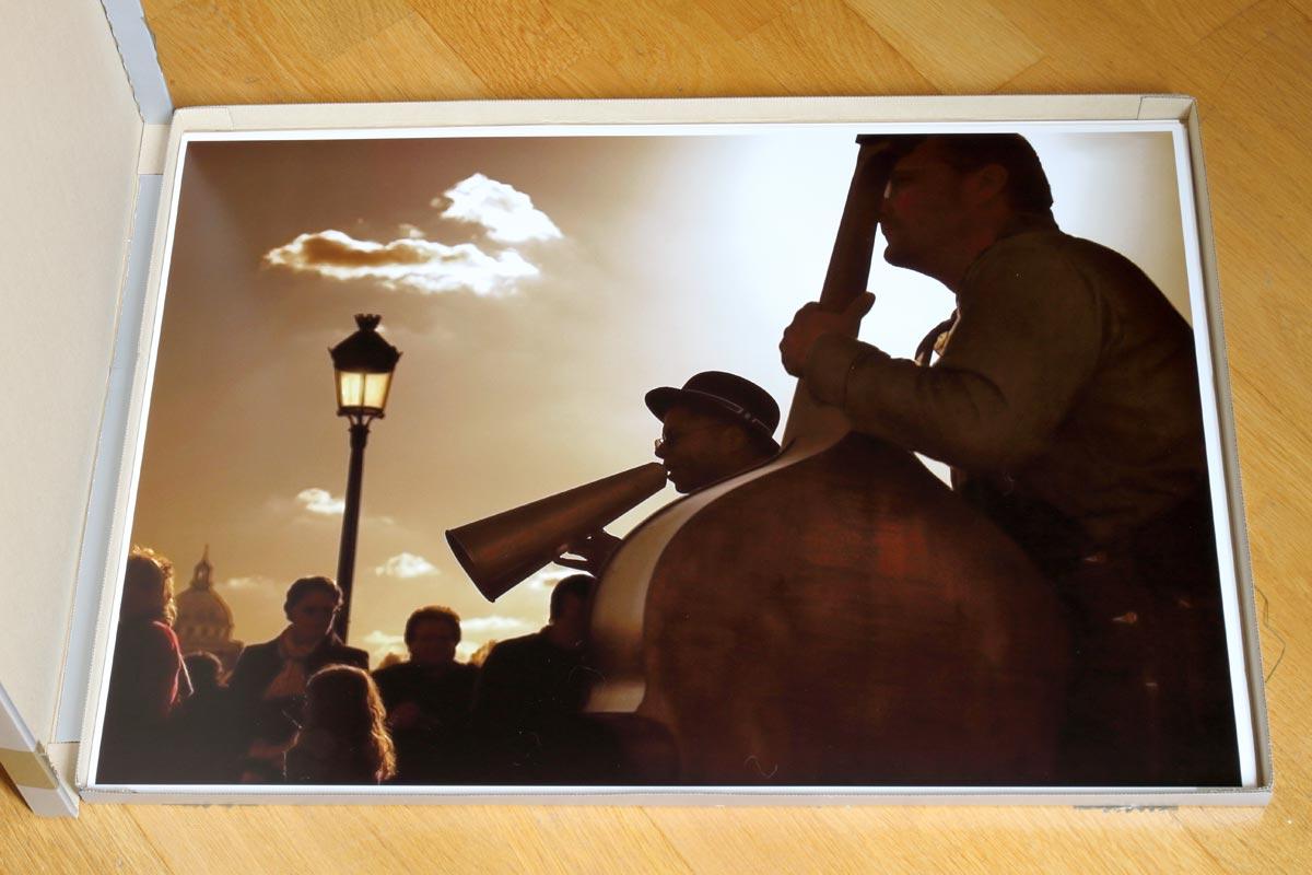 Impression A2 sur la Canon imagePROGRAF PRO-1000 / Jazzmen