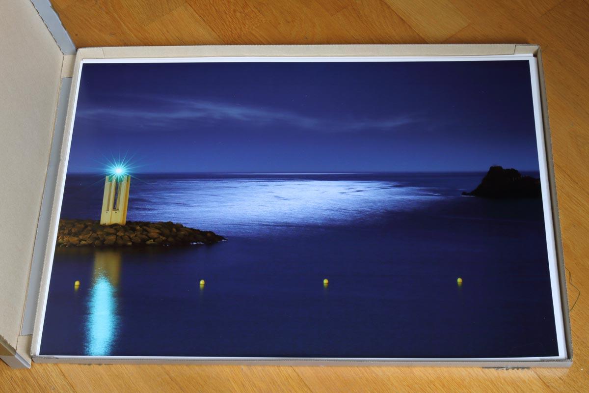 Impression A2 sur la Canon imagePROGRAF PRO-1000 / Théoule-sur-Mer
