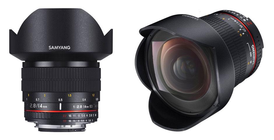 Samyang - Objectif grand angle - 14 mm - f/2.8 IF AE ED UMC Aspherical - Nikon
