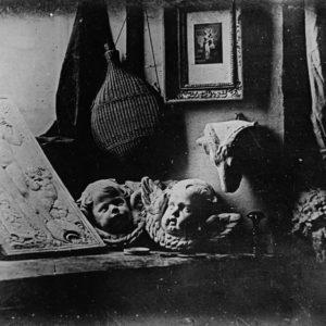 Un des premiers clichés de Luis Daguerre au Daguerréotype