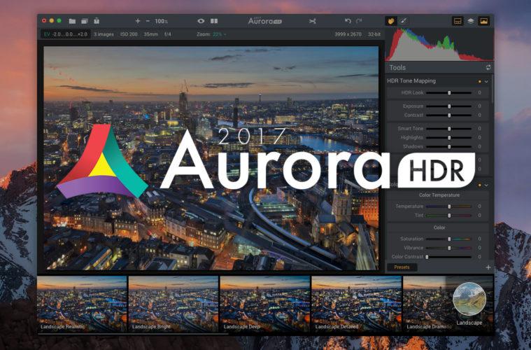 Aurora HDR 2017