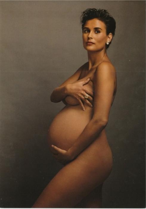 © Annie Leibovitz, Demi Moore, 1991