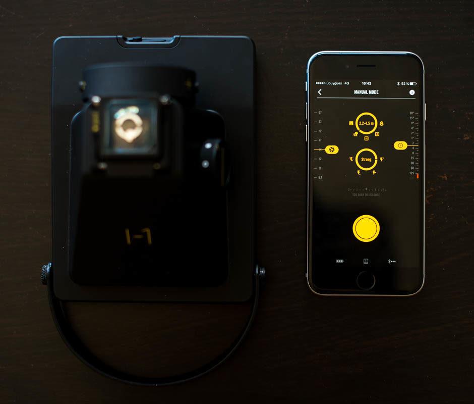 Mode manuel de l'application I-1 Camera