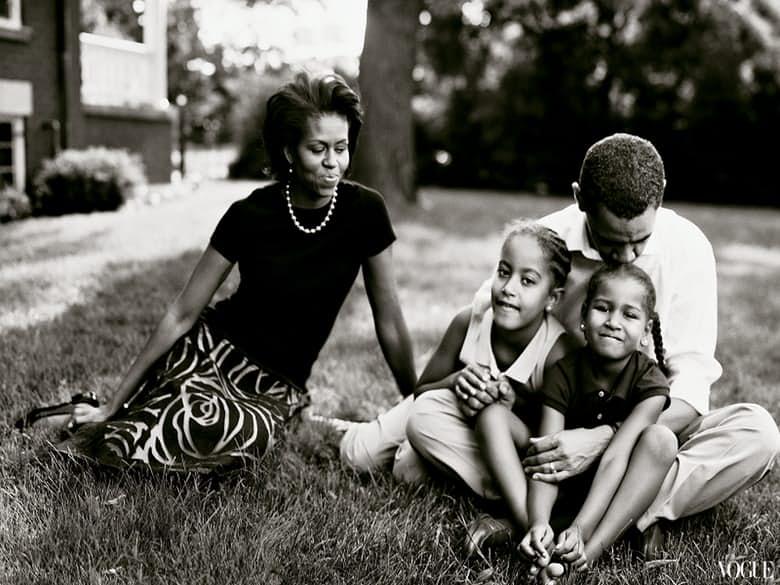 © Annie Leibovitz, Famille Obama pour Vogue, 2007