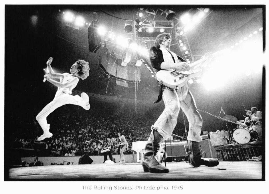© Annie Leibovitz, The Rolling Stones, Philadelphie, 1975