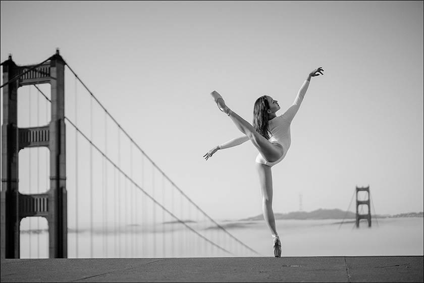 © Miko - Golden Gate Bridge, Ballerina Project