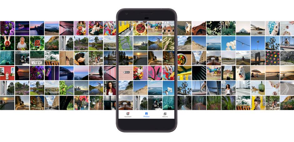 Stockage illimité des photos et vidéos avec Google Photos et le Pixel