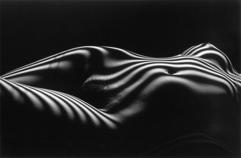 Nu zébré ©Atelier Lucien Clergue