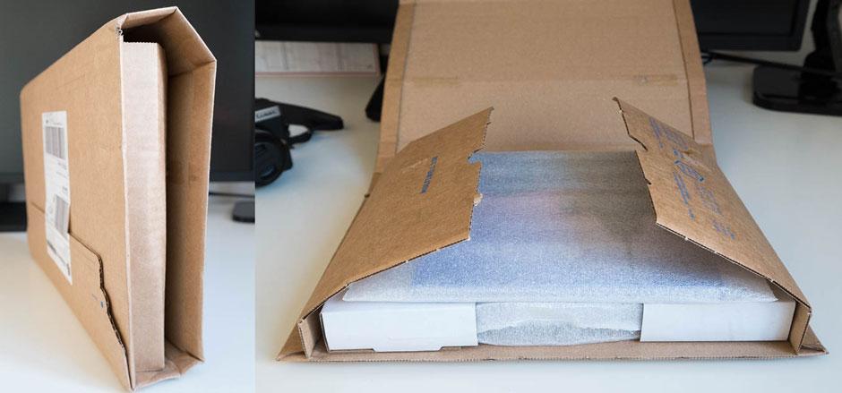 Emballlage des livres simple et efficace, pas de gachis