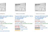 vente flash ssd transcend