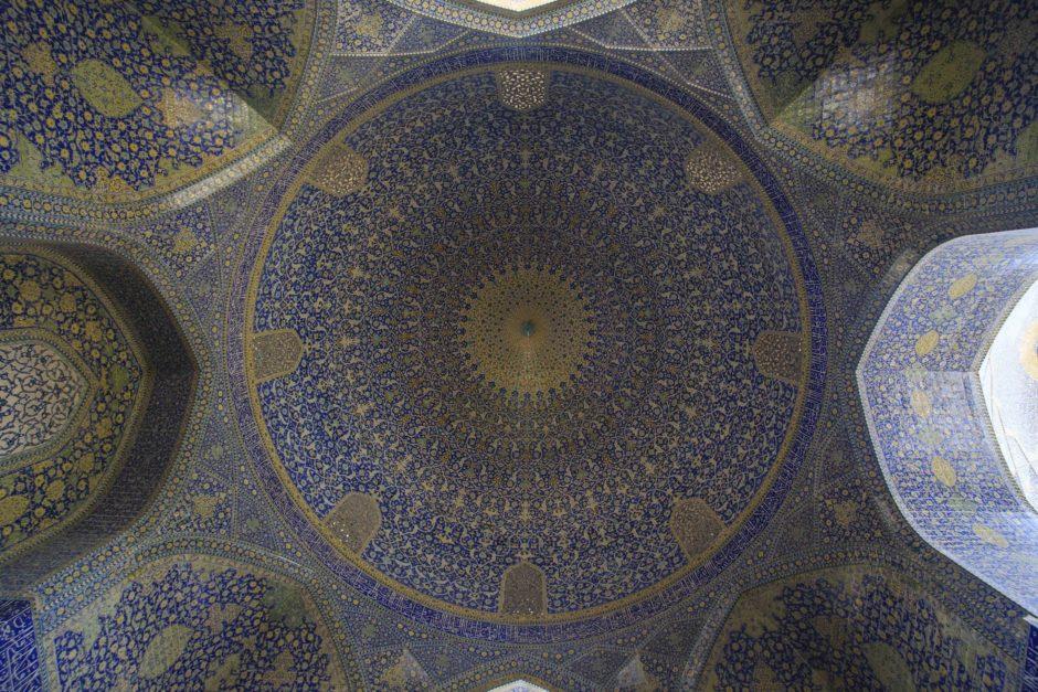 Intérieur mosquée, Isfahan - Martin Balcells