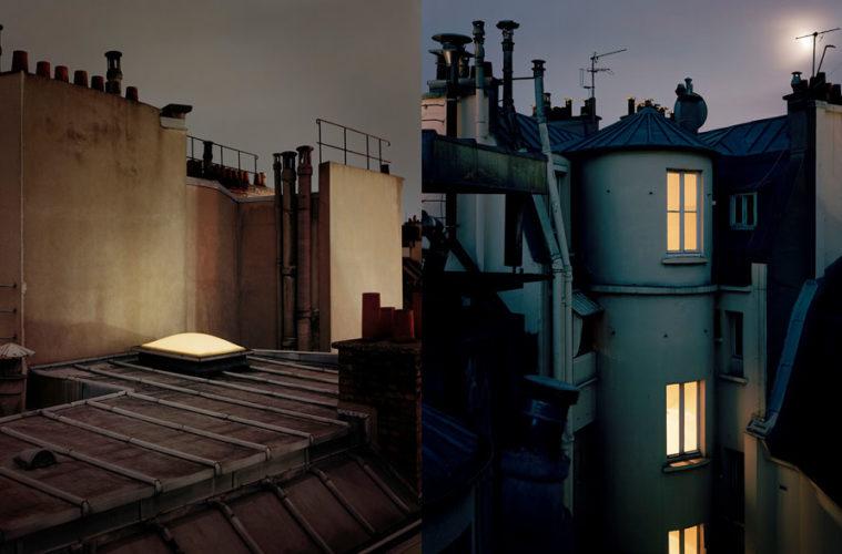 exposition photo les toits de paris vus par alain cornu. Black Bedroom Furniture Sets. Home Design Ideas