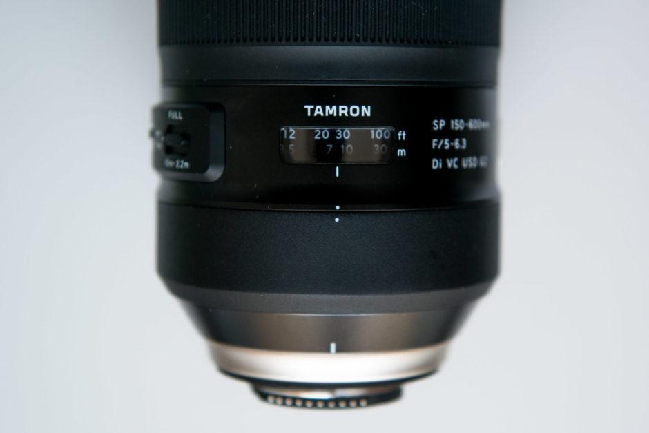 Test terrain du téléobjectif Tamron SP 150-600mm F/5-6 3 Di VC USD