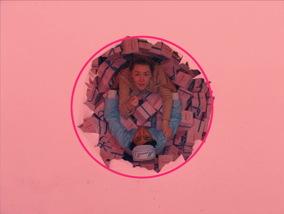 © Geometric Shots - Grand Budapest Hotel (2014) par Wes Anderson - Composition circulaire
