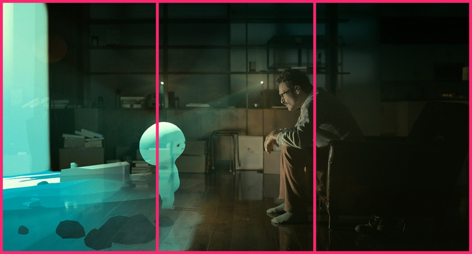 © Geometric Shots - Her (2013) par Spike Jonze - Composition en tiers