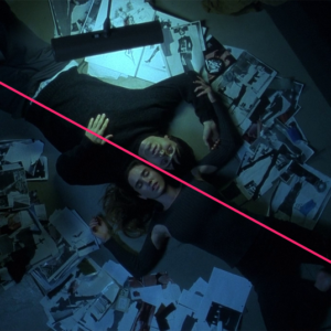 © Geometric Shots - Requiem for a dream (2000) par Darren Aronofsky - Composition en diagonale