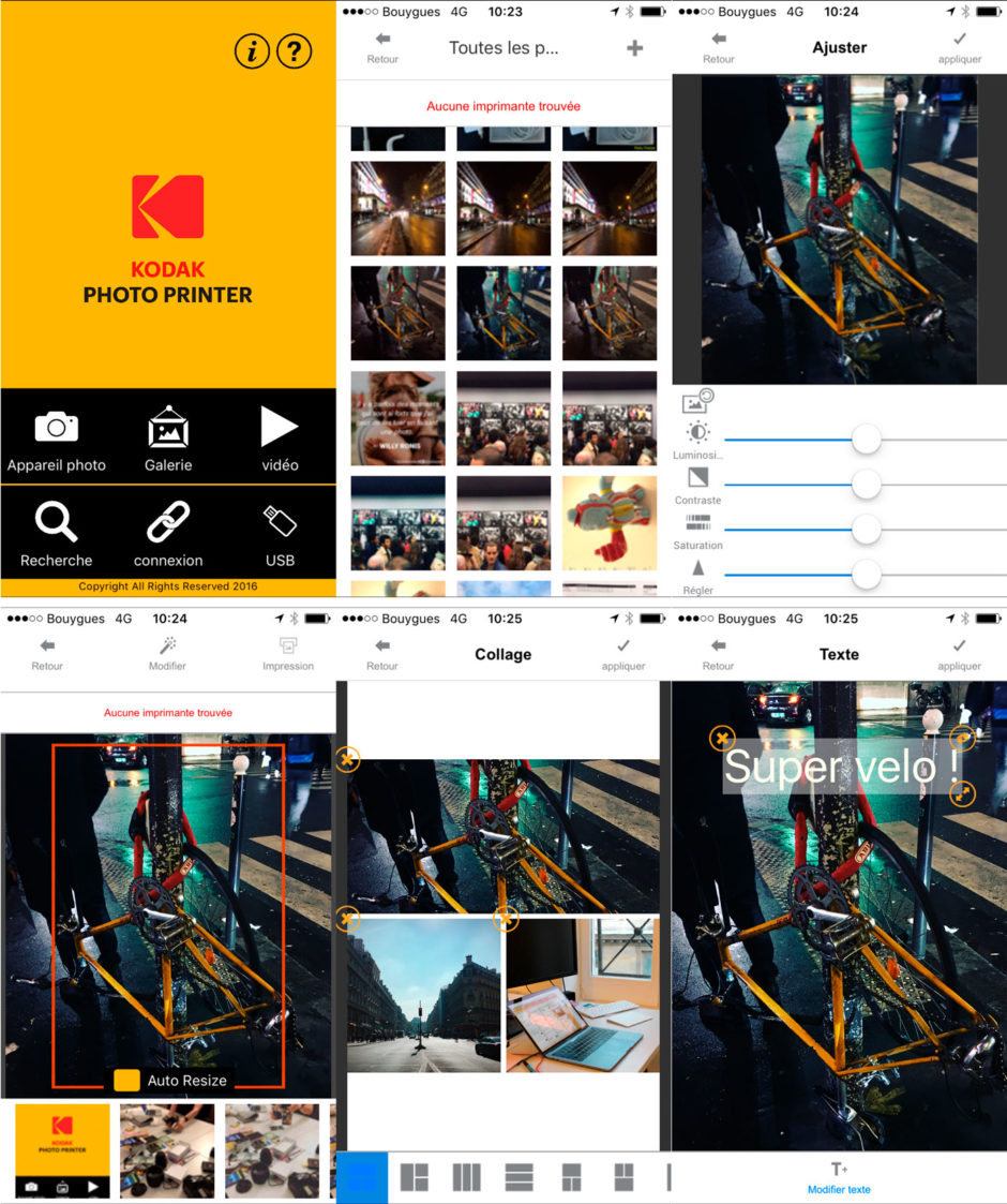 Kodak Printer application iOS