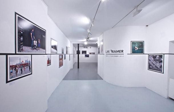 © Exposition Life Framer - Paris, Oberkampf Galerie - Décembre 2015