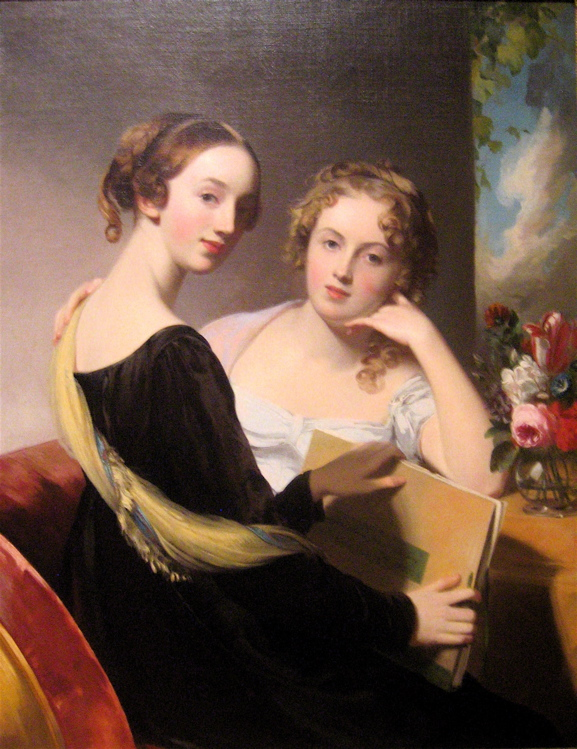 © Thomas Sully - Portrait of the Misses Mary and Emily McEuen - England, Horncastle (1783 - 1872)
