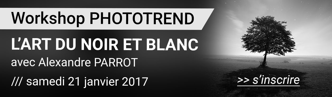 Workshop noir et blanc