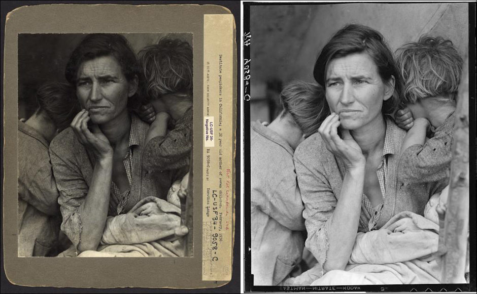 © Dorothea Lange - Migrant Mother (1936) - Library of Congress