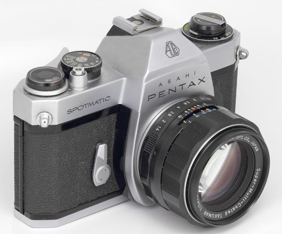 Le Asahi Pentax Spotmatic II, version identique mais améliorée du I quelques années plus tard.