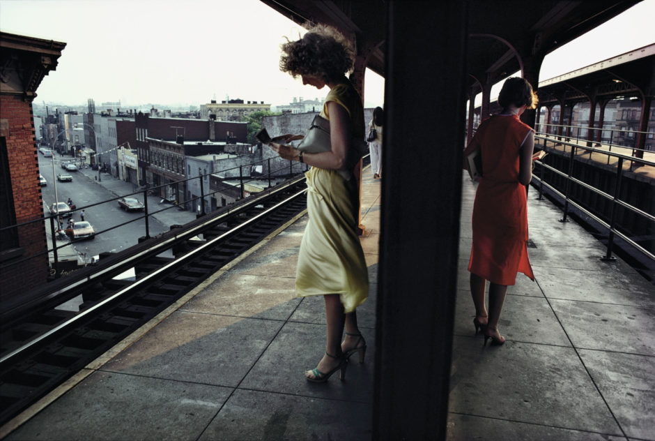 "© Bruce Davidson - Magnum Photos - ""USA, New York City, 1980, Subway"""