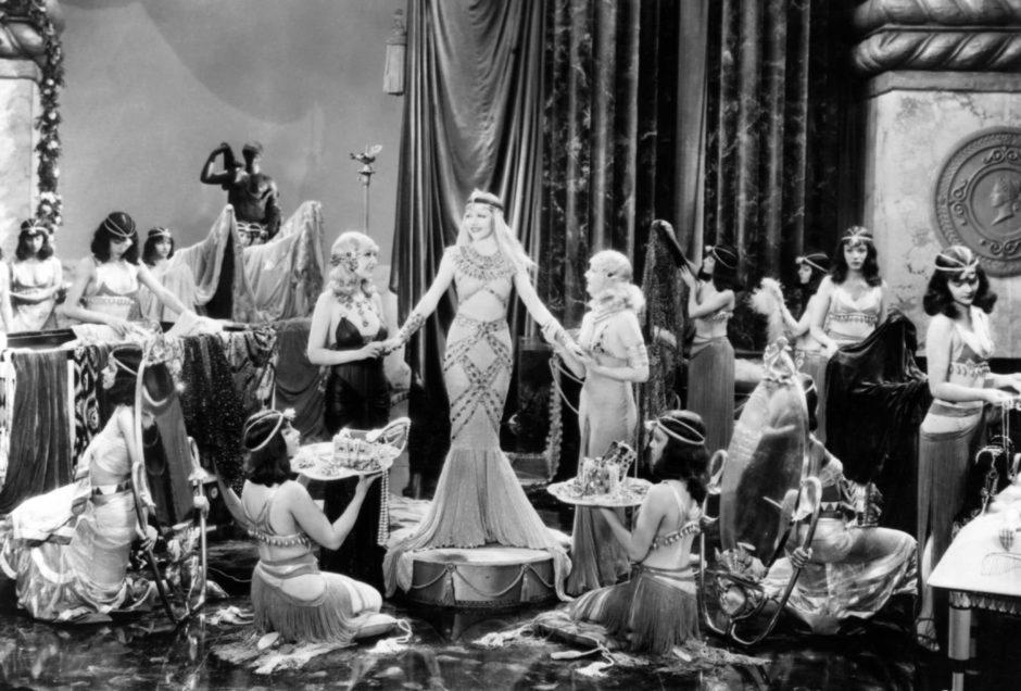 © Cleopatra, Cecil B. De Mille, 1934 - Directeur de la photographie : Victor Milner