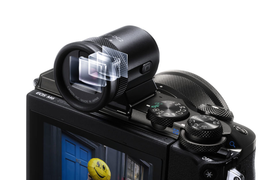 EOS M6 EVF Perspective WH BEAUTY
