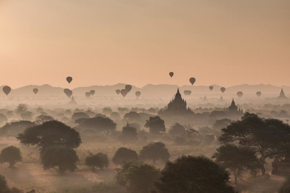 © Erwan Fiquet - Early morning in Baglan, Myanmar