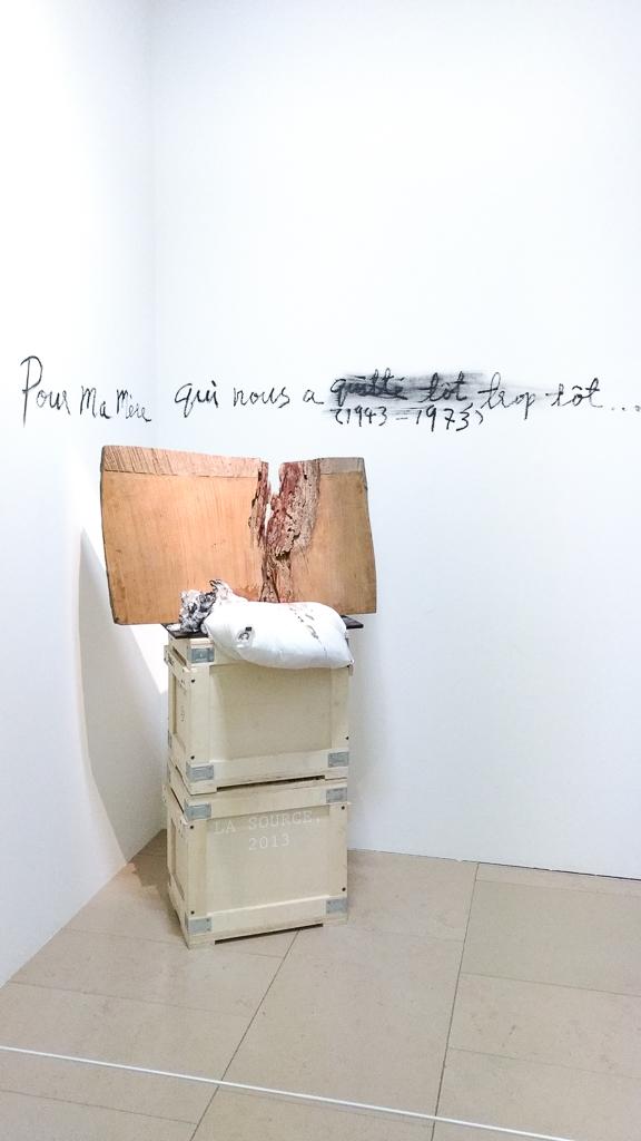 Gao Bo - Maison Européenne de la Photographie - Oeuvre d'art en hommage à sa mère